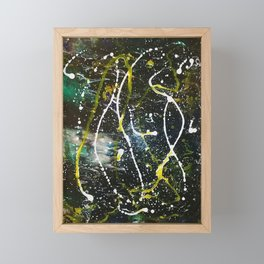 Abstract In Space Framed Mini Art Print