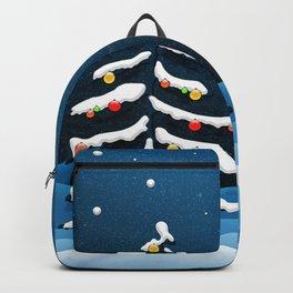 Holiday Christmas Christmas Tree Backpack