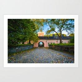 The Suomenlinnan Brewery Art Print
