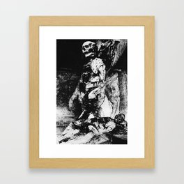 Weaver of the Trance Framed Art Print