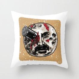 John Wick is the Melies' Moon Throw Pillow