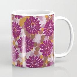 Bold Vintage Floral Coffee Mug