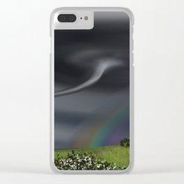 Tornado Clear iPhone Case