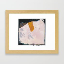 Abstraction and Nothing Framed Art Print