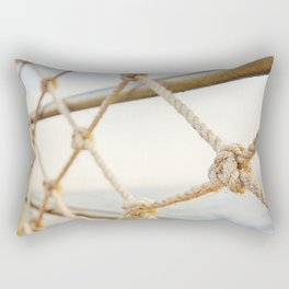 Seaside, by the Sea of Galilee Rectangular Pillow