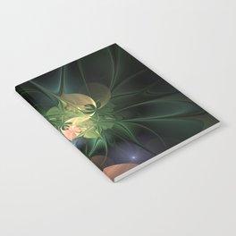 Fractal Floral Fantasy Notebook