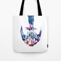 bane Tote Bags featuring Bane by NKlein Design
