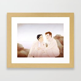Klaine Wedding Series 1 Framed Art Print