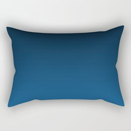 Shades of PANTONE Classic Blue Color Of The Year 2020 Rectangular Pillow