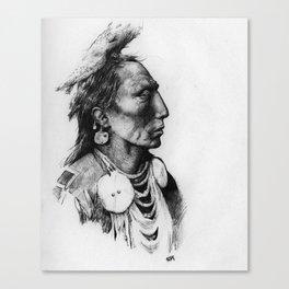 Medicine Crow Canvas Print