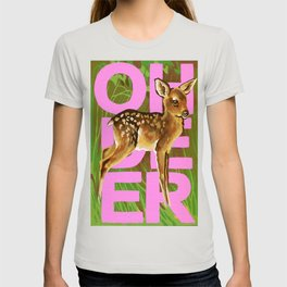 Vintage Paint By Number PBN Baby Oh Deer T-shirt