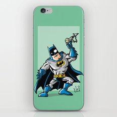 Another Strong man in a super hero costume iPhone & iPod Skin