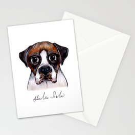 Jake The Boxer Stationery Cards
