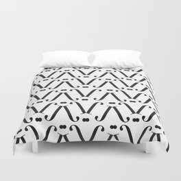 """Patterned - The Didot """"j"""" Project Duvet Cover"""