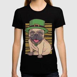 Pug St. Patricks Day T-shirt