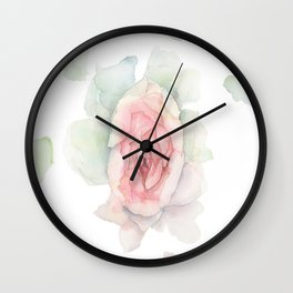 Floral Metaphor for Female Anatomy Wall Clock
