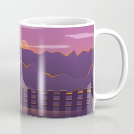 Running sunrise Coffee Mug