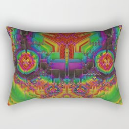Dynamic Circuitry Rectangular Pillow