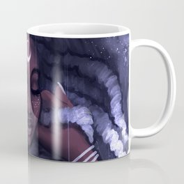 His Afrofutro Moon Coffee Mug