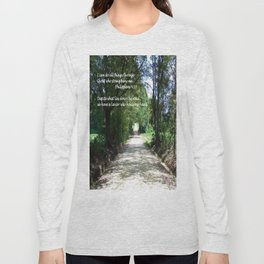 I Can Do All Things Long Sleeve T-shirt