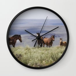 On the Mountain Wall Clock