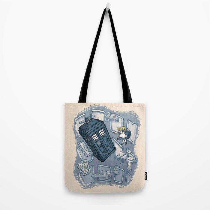 Falling Tote Bag