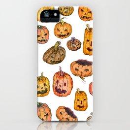 Halloween Pumpkin Party iPhone Case