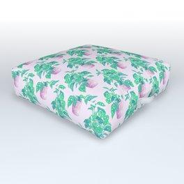 Tropical Houseplant Outdoor Floor Cushion
