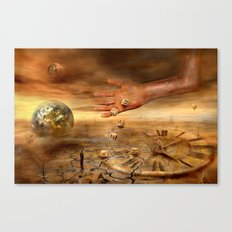Coincidence or fate Canvas Print
