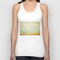 farm Tank Tops featuring Farm Polaroid by Kurt Rahn