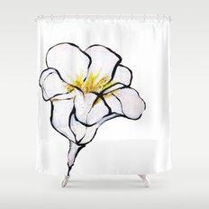 Blanco Shower Curtain