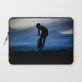 Night rider. Laptop Sleeve
