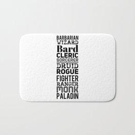 Character Classes Bath Mat