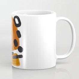 Mid Century Vintage 70's Design Abstract Minimalist Colorful Pop Art Coffee Mug