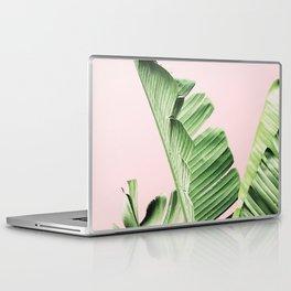 Banana Leaf on pink Laptop & iPad Skin