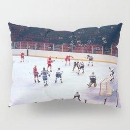 Vintage Hockey Match Pillow Sham