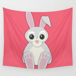 Forest Rabbit Nursery Set Wall Tapestry