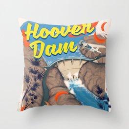 Hoover Dam Nevada/Arizona Throw Pillow