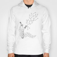 coconut wishes Hoodies featuring Wishes by TJW Artistic Creations