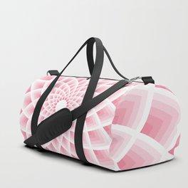 Pink Lotus Duffle Bag