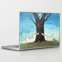 moonrise Laptop & iPad Skins featuring Moonrise by Bluedogrose