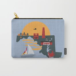 Maryland The Free State  Carry-All Pouch