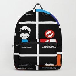 Cute Movie Posters Backpack