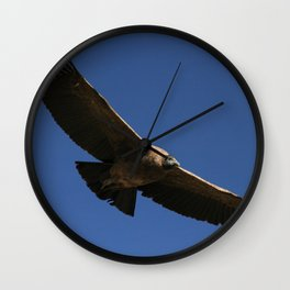 Peruvian Condor Wall Clock