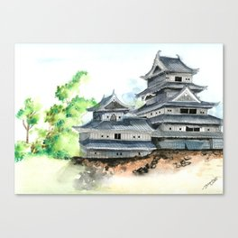 Matsumoto Fortress Canvas Print