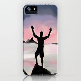 Worship iPhone Case