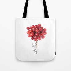 Boy with grapes - NatGeo version Tote Bag