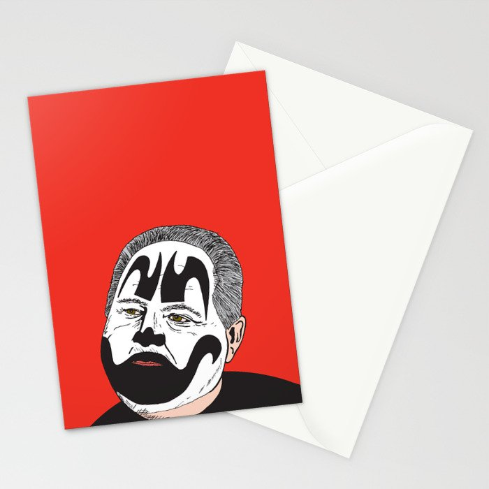 Rush Juggalaugh Stationery Cards