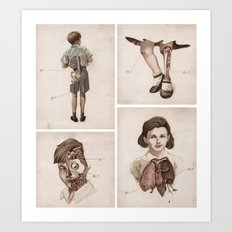 what kids are made of Art Print