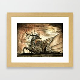 The Lord of Darkness Framed Art Print